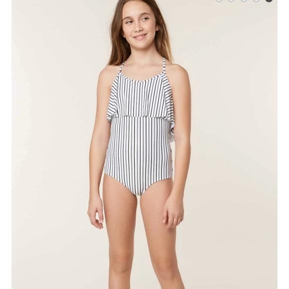 7b08a6eebe O Neill Girls Highway Stripe 1 Piece NWT